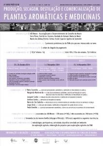 6º curso prático de Produção, Secagem, Destilação e Comercialização de Plantas Aromáticas e Medicinais