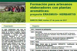 Seminário de Disseminação de resultados do HERBARTIS tem lugar em Barcelona a 27 de Junho