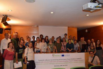 Resultados do curso Herbartis apresentados em Barcelona