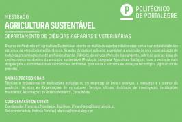 Inscrições abertas para Mestrado em Agricultura Sustentável na ESA Elvas