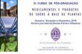 Pós-Graduação em Medicamentos e Produtos de Saúde à Base de Plantas (Coimbra)